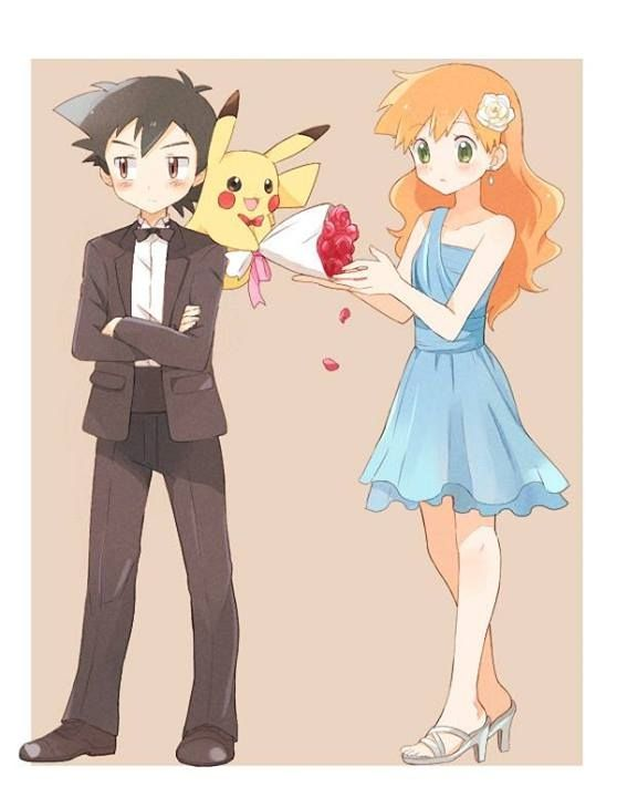 24 best Ash and Misty images on Pinterest | Ash ketchum ...  24 best Ash and...