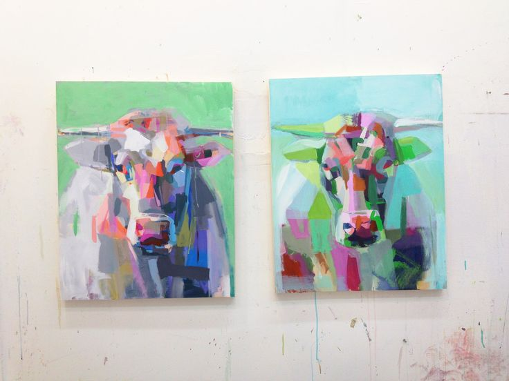 Teil Duncan - love her animal prints - cows and sheep