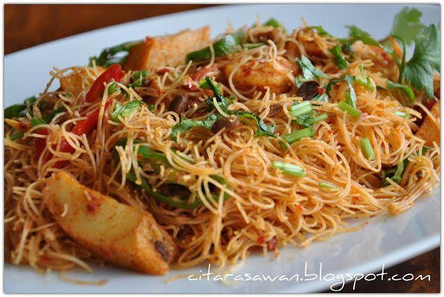 Mihun Goreng Taucu Resepi Terbaik Resep Makanan Masakan Serikaya