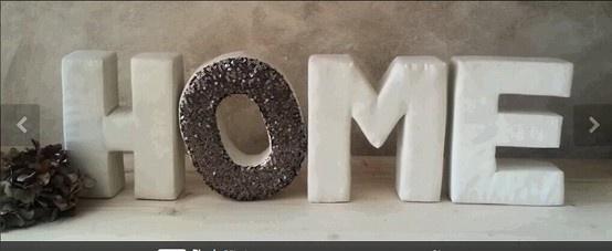 D letras home dise adas y producidas por d meic letras de - Letras home decoracion ...