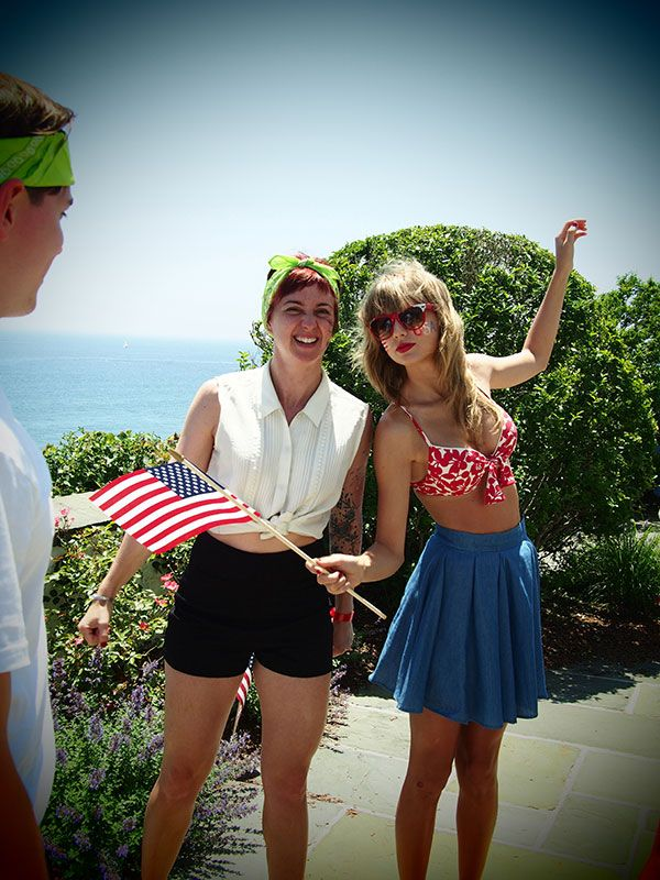 Taylor Swift celebrates the Fourth of July in style