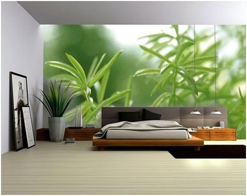how to decorate a room with no windows add a painted or vinyl rh pinterest com