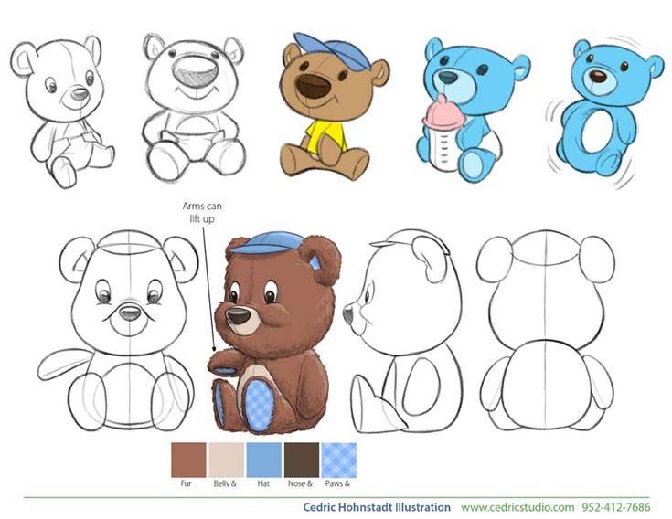Plush Bear design