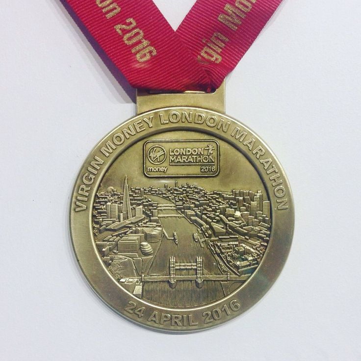"""This years """"London Marathon finishers medal"""" has been revealed"""
