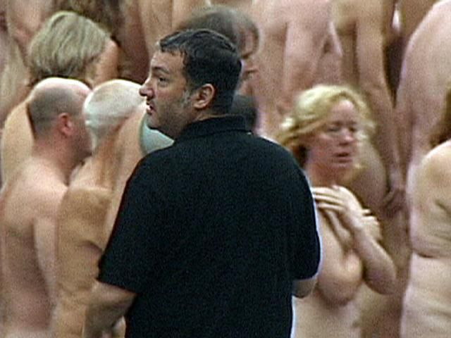 Spencer Tunick - Installation Düsseldorf