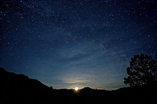 The night sky - stars | Capture the Moment | Pinterest ... Real Star In The Sky
