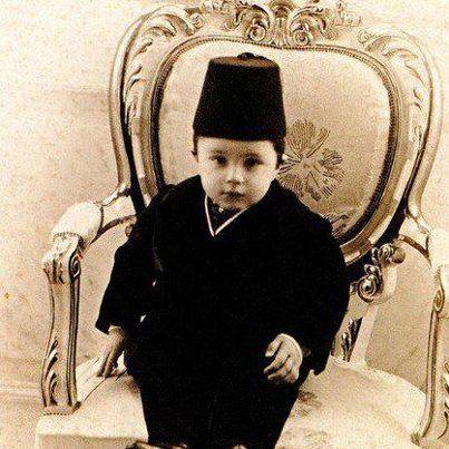 Sultan Hamid'in en küçük oğlu Âbid Efendi, sürgün yıllarında hep babasının yanında olmuştur. En son vefat eden padişah oğlu da odur.Mehmed Âbid Efendi, Sultan Hamid'in en küçük oğludur. 1904 senesinde Yıldız Sarayı'nda Saliha Nâciye Hanım'dan dünyaya geldi.