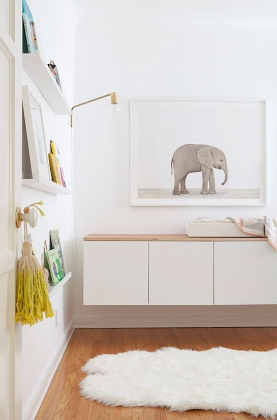 Yes! A nursery that isnt full of bright tacky looking colors and cartoon characters. This is so calming too!.. Maybe Someday.  Modern Baby Nursery « Spearmint Baby