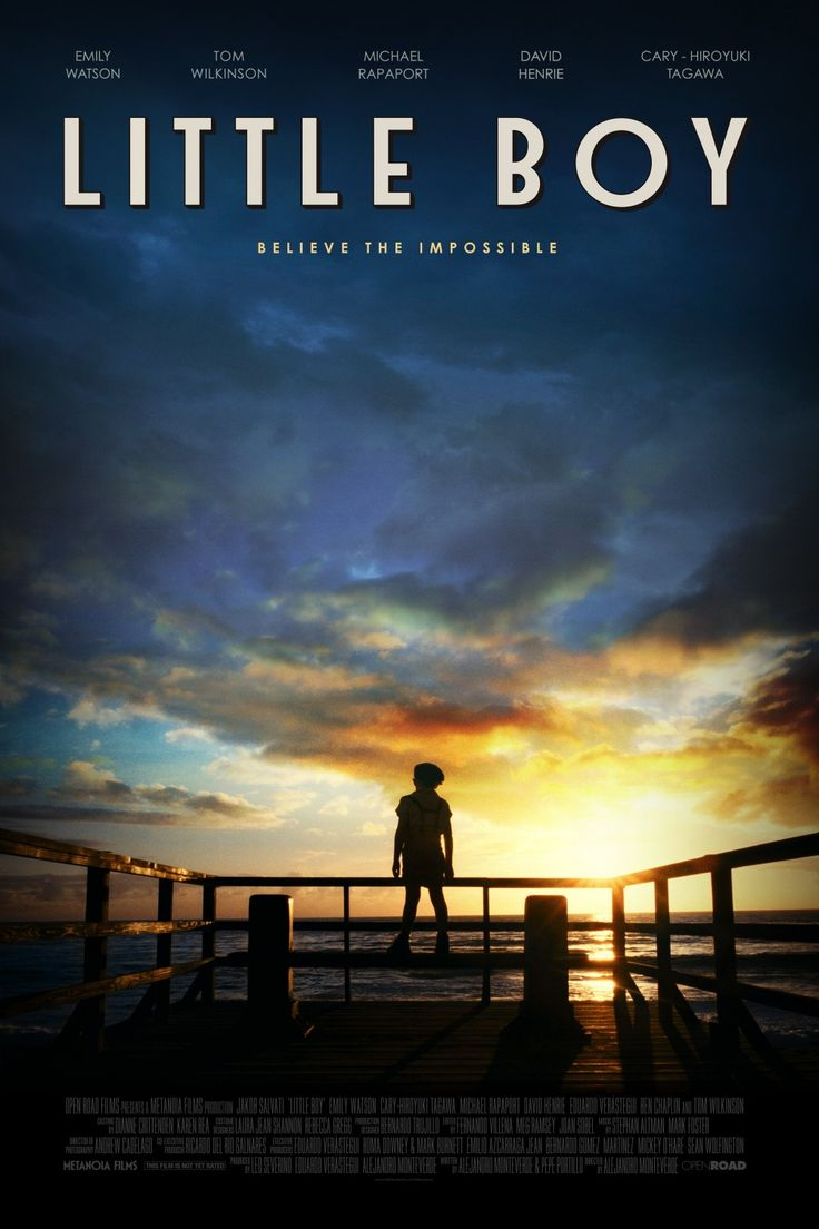 Little Boy (2015) I cried my eyes out with this movie!