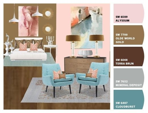 A Mood Board Is Created By Interior Designers To Provide Visual Aid Clients Of What Their Room Will Look Like It Often Tactile That Inclu