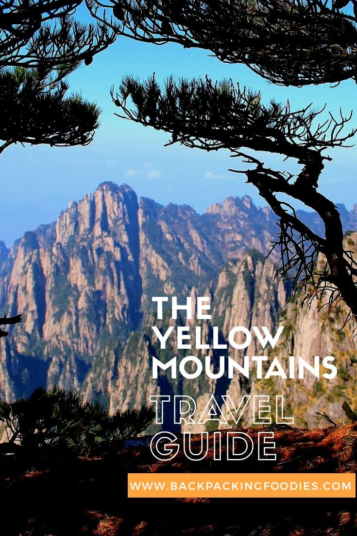 An Extensive Travel Guide for Yellow Mountains (Mount Huangshan) in China. If you are going to visit Yellow Mountains you should definitely read this!