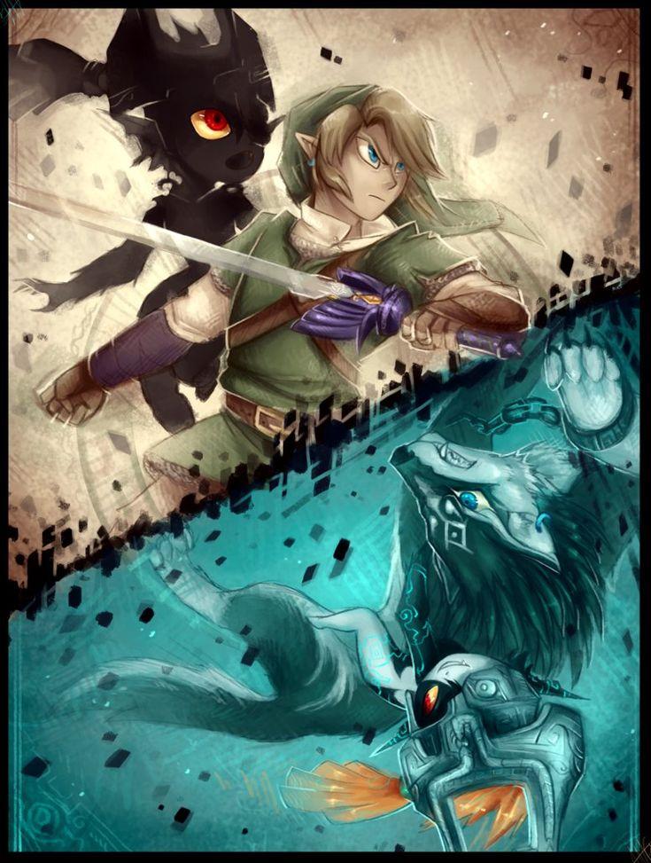 Crossing Twilight - Zelda Twilight Princess by WalkingMelonsAAA.deviantart.com on @DeviantArt