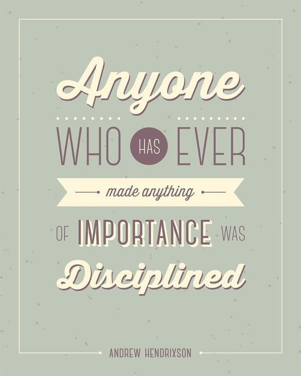 Motivational Quotes For Sports Teams: 17 Best Discipline Quotes On Pinterest