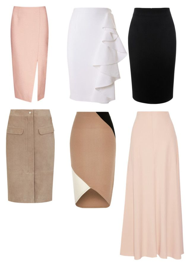 """""""Skirts for L"""" by natalya-dyukina on Polyvore featuring мода, C/MEO COLLECTIVE, Moschino, Alexander McQueen, River Island и The Row"""