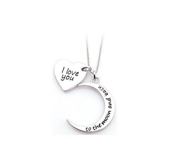 Couples Jewelry Love Set Pedant Necklace Valentines Day Gift Idea For Her  Him