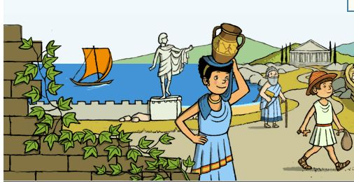 BBC Ancient Greece for Kids-use for exploration in Chapter 5
