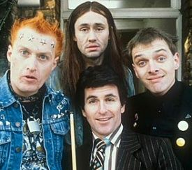 The Young Ones was a British sitcom, broadcast in Great Britain from 1982 to 1984 in two six-part series.
