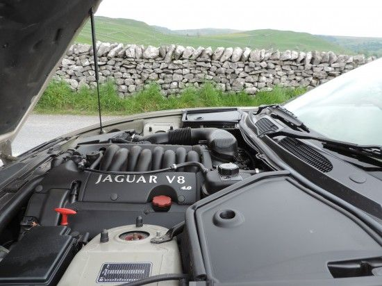 Jaguar XK8 Driven