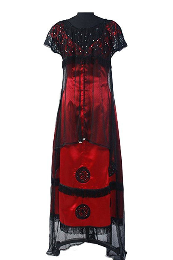 Formal Edwardian Gowns Rose Jump Dress Costume Victorian  AT vintagedancer.com