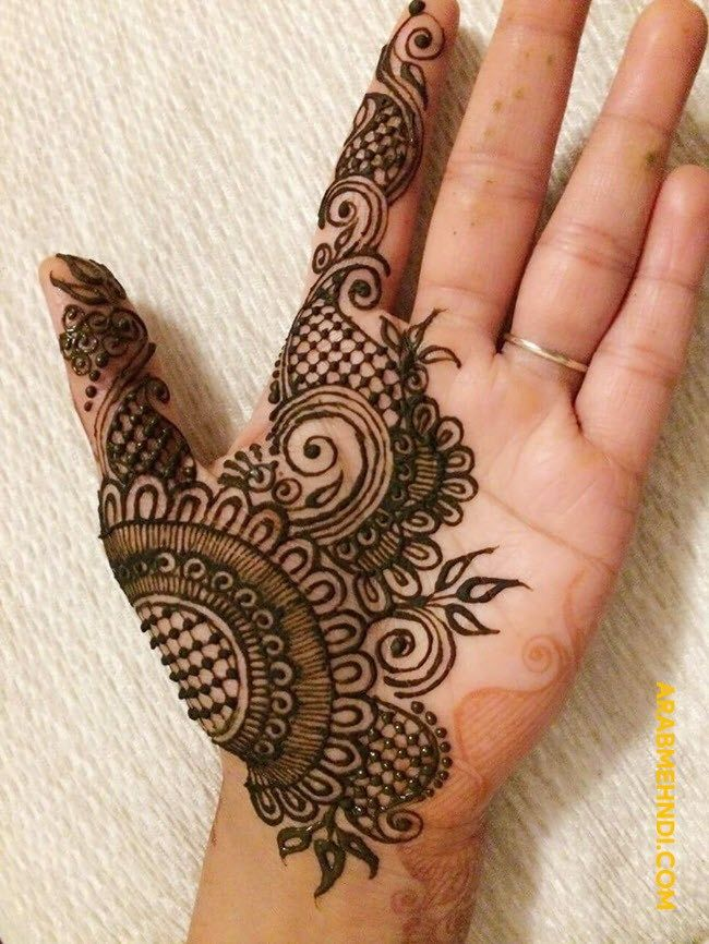 simple male henna designs