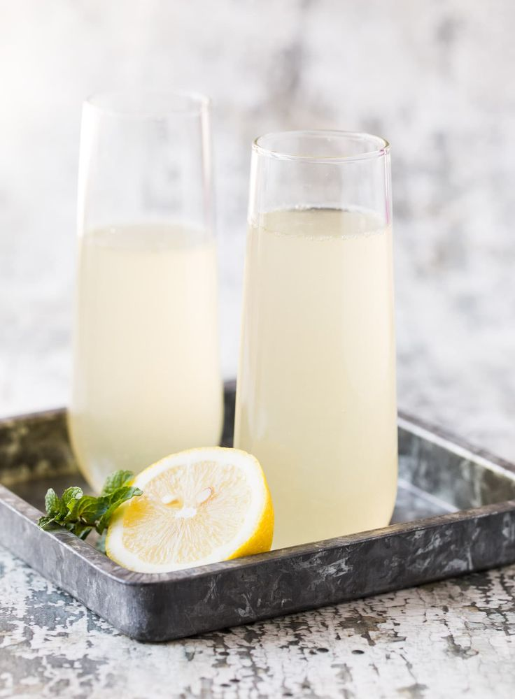 Bubbles make every occasion special, but this Elderflower French 75 cocktail jus…