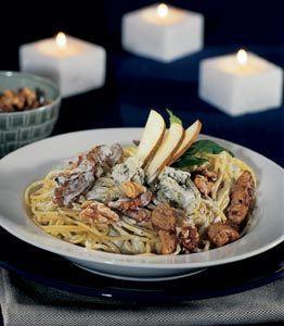 Lyxig pasta med kyckling och gorgonzola