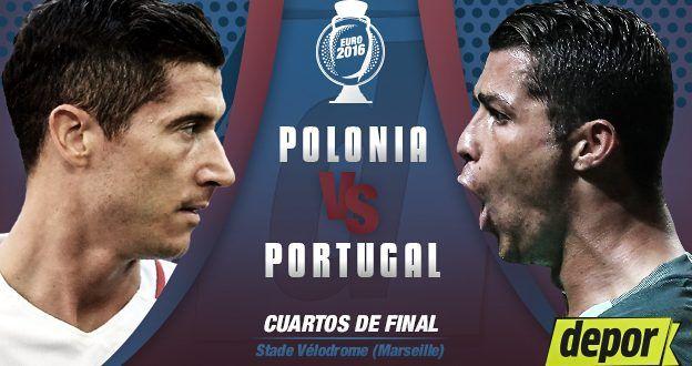Ver Polonia vs Portugal EN VIVO Online Cuartos de Final Eurocopa 30 Junio 2016