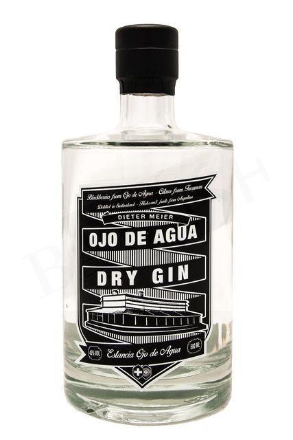 Ojo De Agua Dry Gin by Dieter Meier