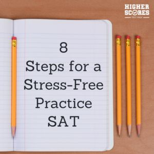 The first step of any SAT prep journey is to take a free practice SAT in the comfort of your own home. Discover 8 steps to make your SAT practice test go more smoothly and print a free test to take at home too! Download your free SAT practice test @ higherscorestestprep.com/sat-practice-test
