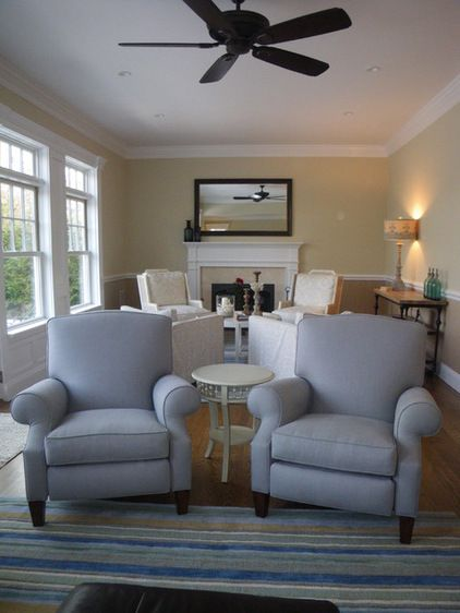 These are recliners! Vanguard furniture, Traditional Living Room by Shannon Willey. found on Houzz