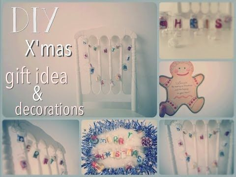 DIY Christmas Gift Idea & Decorations / Recycle Bottles - YouTube