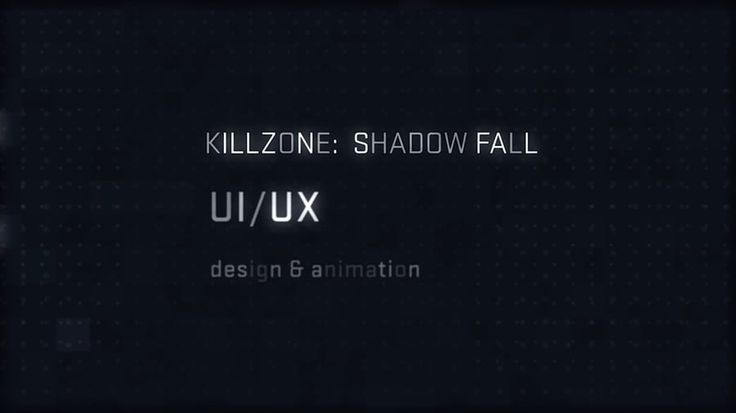 Killzone: Shadow Fall — User Interface Design Highlight Reel on Vimeo