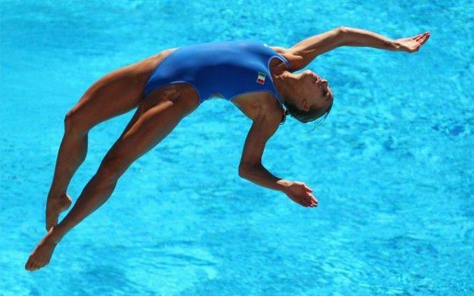 Бомбочкой или солдатиком - Супер Фотографии прыжков в воду