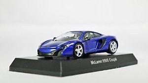 Kyosho 1/64 MiniCar Collection McLaren Model I 650S Coupe Blue (japan import) Mini Diecast Racing Car Figure