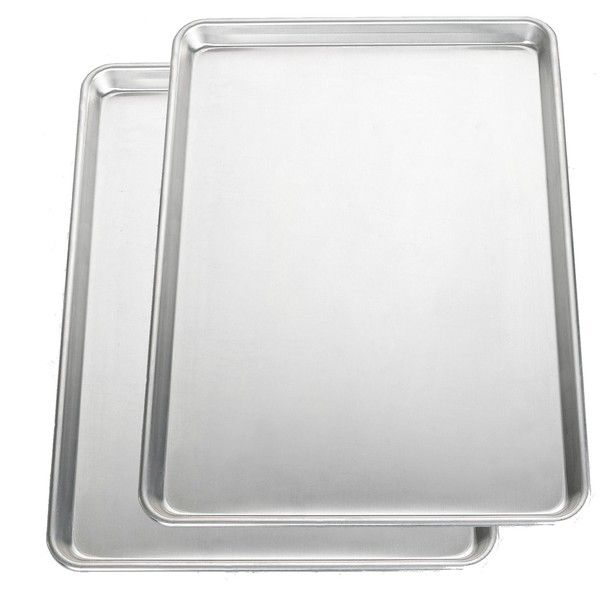 Nordic Ware Bakers Commercial Half Baking Sheets (Pack of 2) $25.91
