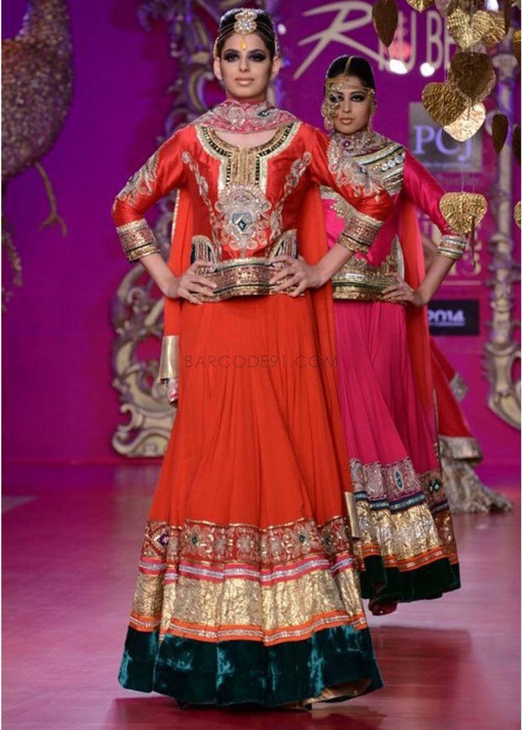 Ritu Beri Collection at PCJ Delhi Couture Week 2013 find similar lace designs on lacxo.com