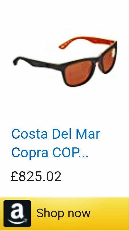 7df3922d46 New Costa Del Mar Copra COP 102 Matte Gray Cream Salmon Sunglasses for Mens
