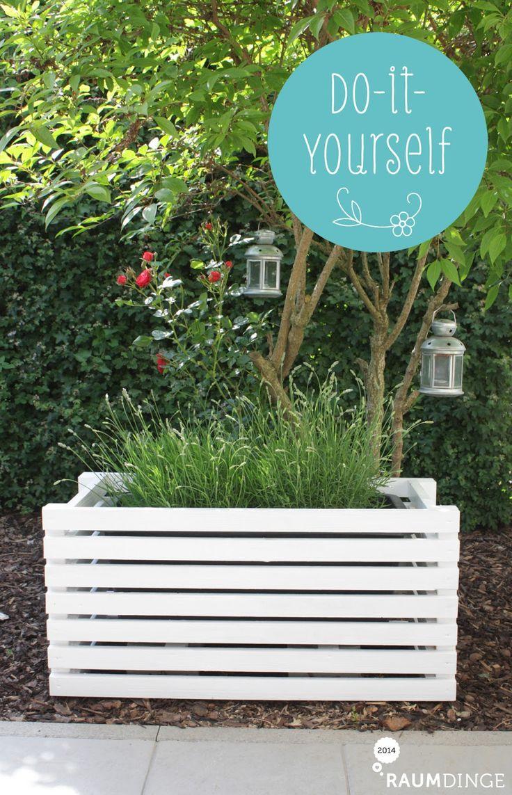 raumdinge: DIY-Pflanztopf statt Buchsbaumkugeln