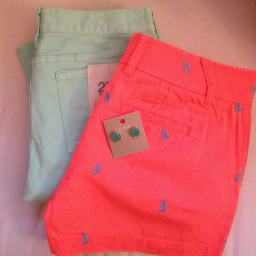All about the JCrew spring neons!