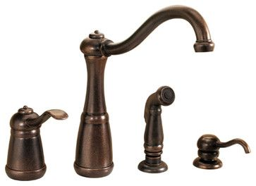 Pfister GT26-4NUU Marielle Kitchen Faucet With Spray rustic-kitchen-faucets