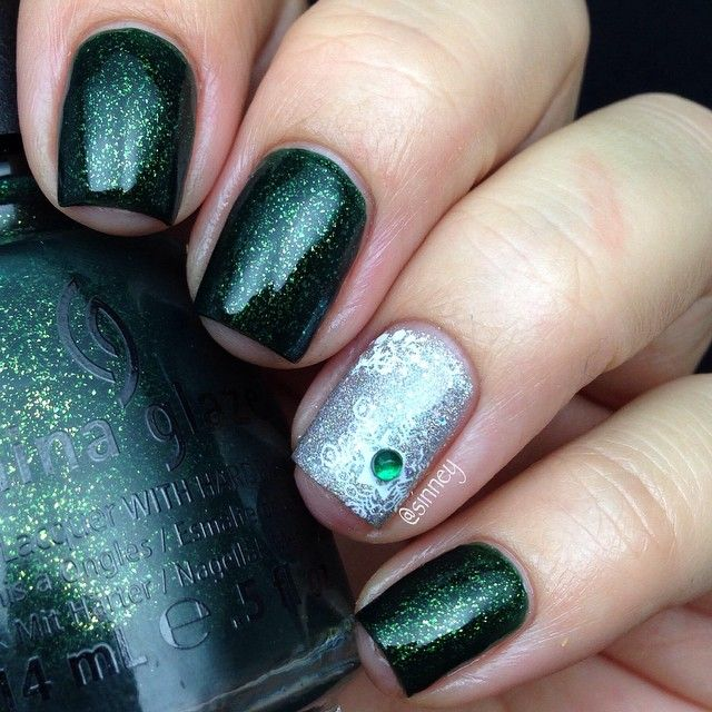 245 best Nail Art: Rhinestones & studs images on Pinterest | Gems ...