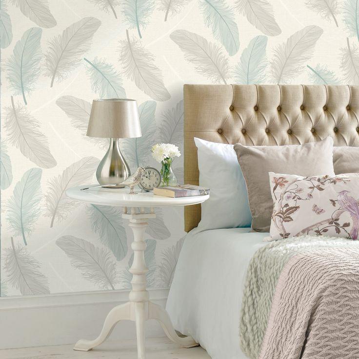 K2 Teal u0026 Cream Maisey Wallpaper 89