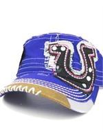 HORSE SHOE HAT: Horse Shoes, Kickers Shoes Belts Hats, Horseshoe Hat, Purple Horseshoe, Bling Hats