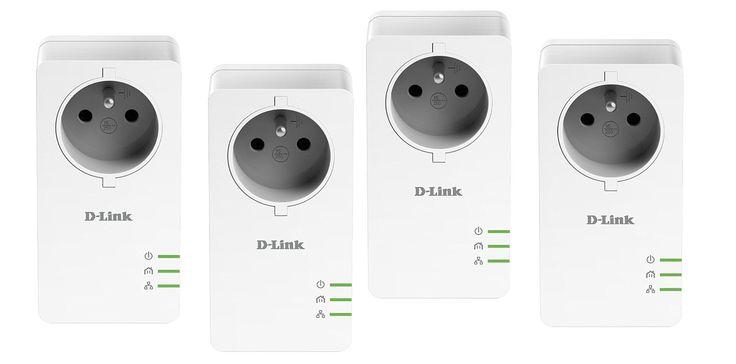 D-Link DHP-P601 AV*2 Kit de 4 Adaptateurs CPL 1000 Mbps Blanc: Amazon.fr: Informatique