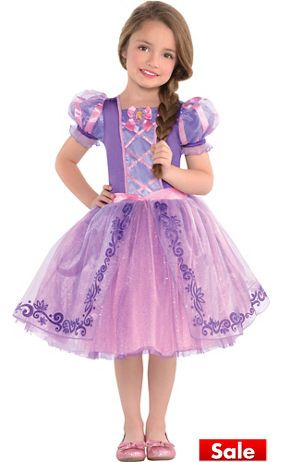 9a7f464c5a07 Toddler Girls Rapunzel Dress Costume - Tangled | Birthday ...