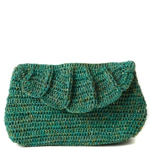 Marcella Clutch Aqua now featured on Fab.   Love the color!