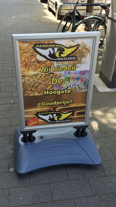 Reclame #maxgoud #rotterdam