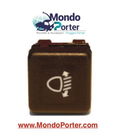 Interruttore Pulsante Regolazione Fari Piaggio Porter b007884
