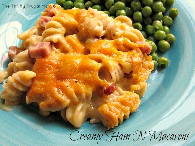 Ham N Macaroni- a delicious twist on traditional macaroni and cheese ...