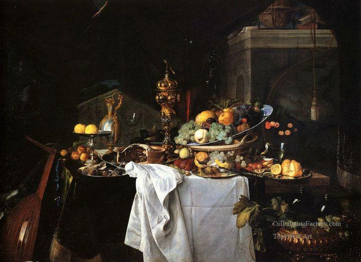 De Still Life Of Dessert Dutch Baroque Jan Davidsz de Heem